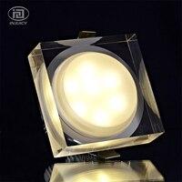 1 W 3 W 5 W 6 W 7 W Acrilico LED Soffitto Luce Spot AC85V-Crystal LED Downlight Da Incasso Lampada per Illuminazione Dell'interno Della Casa decorazione