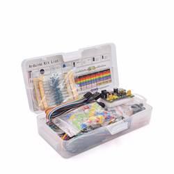 Электроника Компонент основной Starter Kit с 830 галстук точки макет кабель резистор, конденсатор светодио дный светодиод, потенциометр
