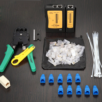 Original Wire Clamp Set Tool Crimping Pliers Net Clamp Cable Test Instrument Network Crystal Head Stripper