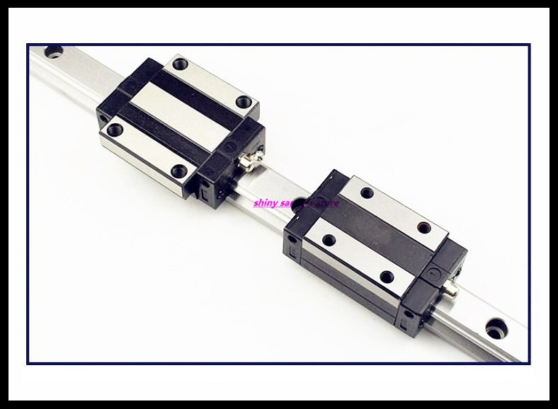 Linear Guide Rail 15 , 20, 25 , 30 , 35 Series Rail Linear L=600mm,500mm,400mm,300mm,200mm For TRH TRS CNC Parts Brand New