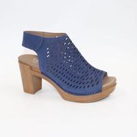 Новые высококачественные кожаные сандалии на высоком каблуке внутри и снаружи, выдолбленная обувь ортопедическая удобная обувь для ног.