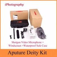 Aputure божество комплект конденсаторный видеокамера профессионального микрофон для Canon Nikon sony цифровой Камера видеокамера
