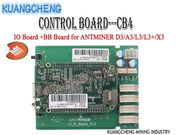 ANTMINER L3+ Control Board CB4 Include IO Board And BB Board Motherboard for ANTMINER D3/A3/L3/L3+/X3 MINERS from KUANGCHENG 1