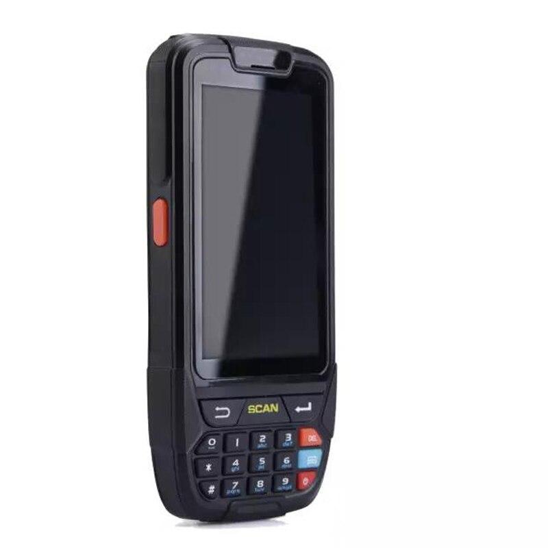 GZPDA01 Android 7,0 мобильный сбора данных pda Терминал 1D считыватель штрих-кодов Wi-Fi ...