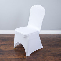 100Pcs Universal Spandex Elastic Chair Cover Polyester Wedding Decoration Party Hotel Banquet Dining Restaurant Home Textile