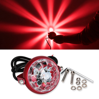 1PCS Motorcycle LED Turn Signal Chassis Tail Light Laser Fog Lights Taillight Anti Fog Parking Stop