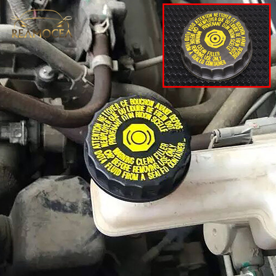 Reamocea 1613328880 16 133 288 80 Brake Fluid Trim Oil Pot Cover For Citroen Peugeot 206
