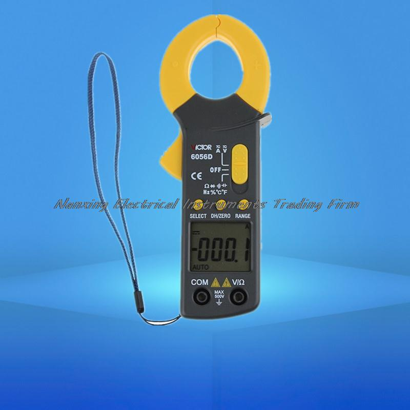 VC6056D Digital AC DC Clamp Meter 600A refrigerant special With frequency temperature capacitance test  vc6056d digital ac dc clamp meter 600a refrigerant special