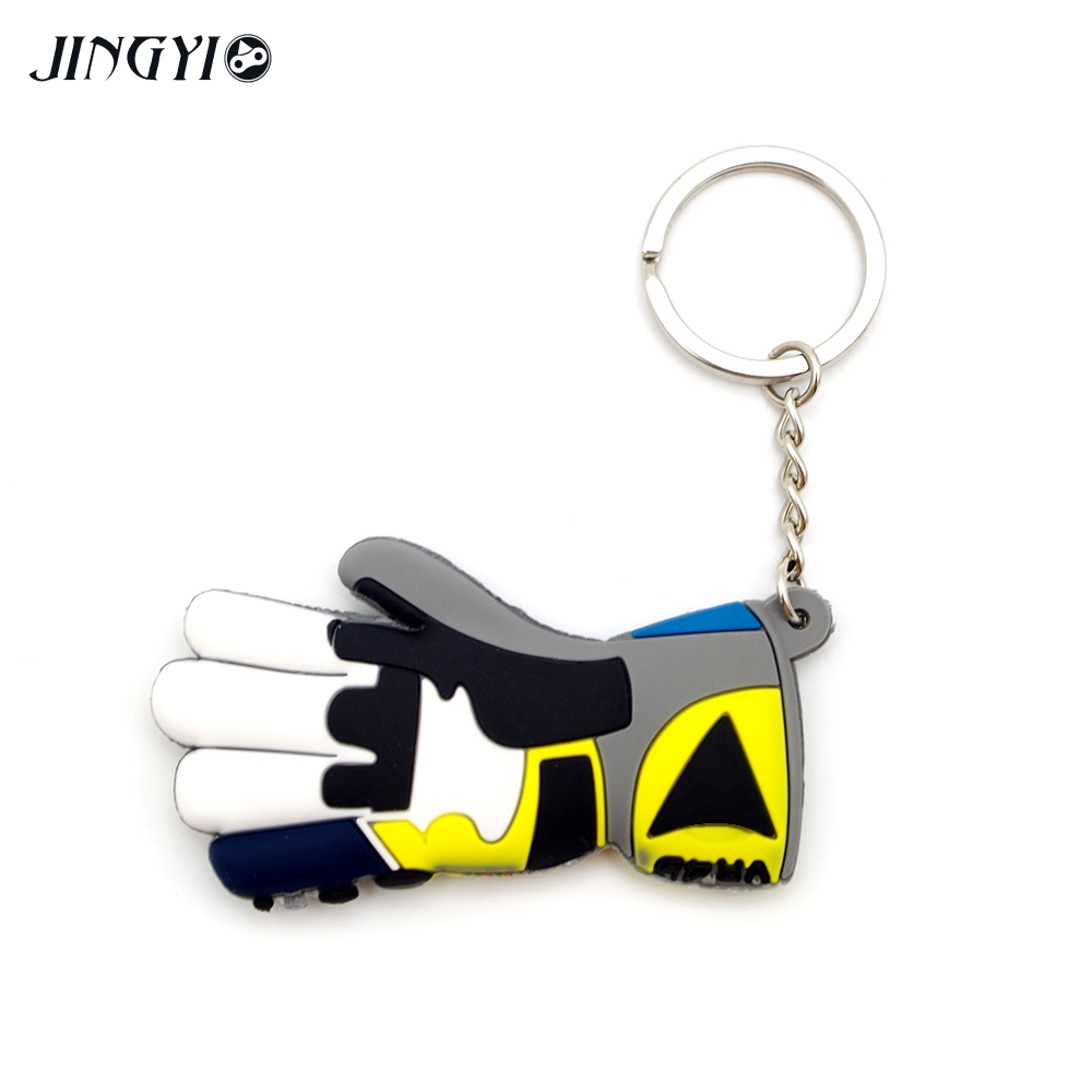 Moto Keychain Glove Logo Motorcycle Accessory Key Ring Voiture Chain For jeep keychain chaveiro bmw mercedes benz accessories in Key Rings from Automobiles Motorcycles