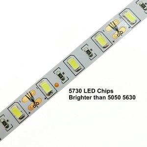 Image 4 - Tira de luces LED Flexible, 5730, 12V, 60LED/m, 5m, 300 LED, más brillante que 5050, 5630