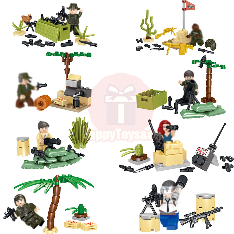 2018 Legoing LELE Creative series 36026 248Pcs Jedi survival toys For Children Gift Building Blocks Set Brain game Military war