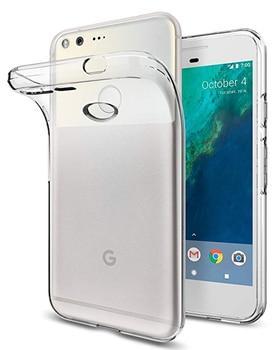 Перейти на Алиэкспресс и купить Ультратонкий Мягкий ТПУ прозрачный чехол для телефона Google Pixel 2 3 3a 4 XL, чехлы, силиконовый чехол для Google Pixel 3 XL, Роскошный чехол
