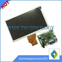 Free Shipping 7 Inch Raspberry Pi IPS LCD Display With HDMI VGA AV Screen Module For