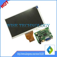 Free Shipping 7 Inch Raspberry Pi IPS LCD Display With HDMI VGA AV Screen Module For
