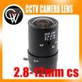 2.8-12mm lente Varifocal Manual de Iris CS Monte CCTV Lente para Câmeras de Segurança CCTV