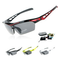 EOC Professional Polarized Cycling Glasses Bike Goggles Outdoor Sports Sunglasses Driving Fishing Eyewear UV 400 With