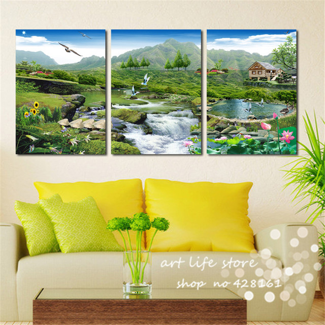 Modern Wall Decor Canvas Painting More Things All Beauty In Picture Natural Pretty Life For Living