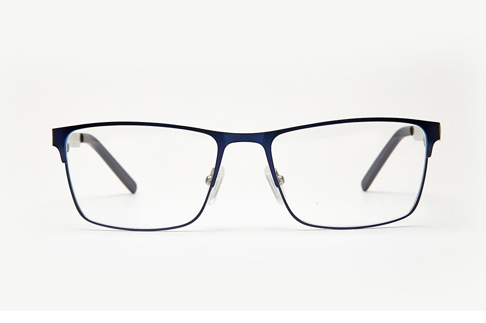 edd17b51cc6 Metal Men Glasses Clear Frame Clear Fashion Transparent Design Blue  Rectangle Eye Glasses Frames For Men High Quality TWM6154C2. 3 2  01 ...