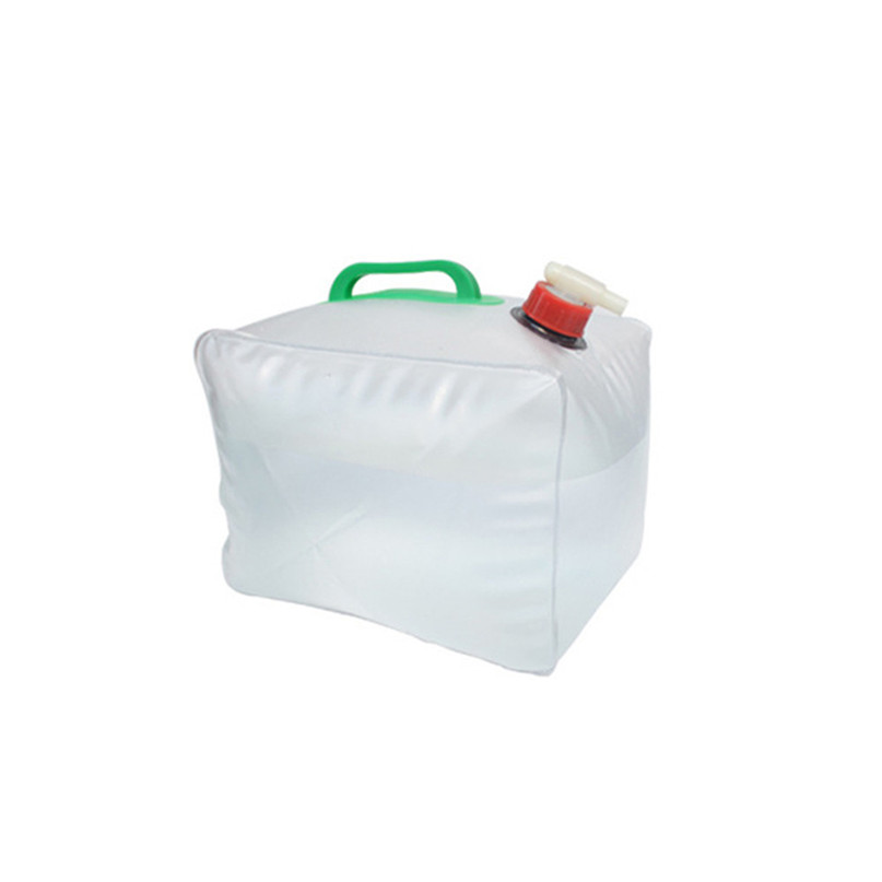 Portable water storage container Collapsible Water Carrier Bag Emergency Water Bag for Camping survival #2y15 (2)