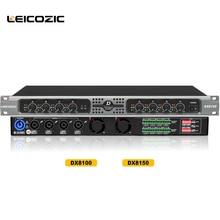Leicozic DX8150 amplificateur 8 canaux classe d amplificateur de son professionnel 8×250 w RMS 4ohm amplificateur pro amplificateur de puissance scène