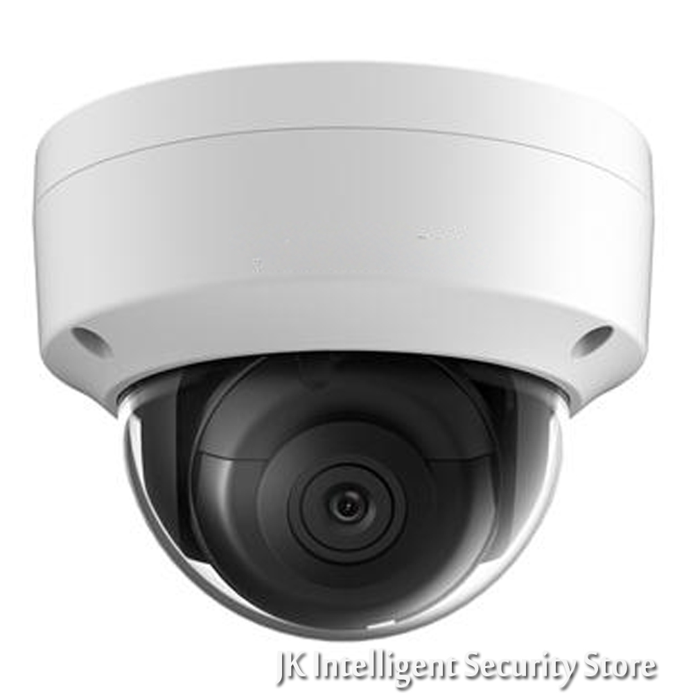 Hikvision DS-2CD2185FWD-I New Oversea Version IP housing 8MP Dome IR Camera POE security HD Mini White CCTV security Camera