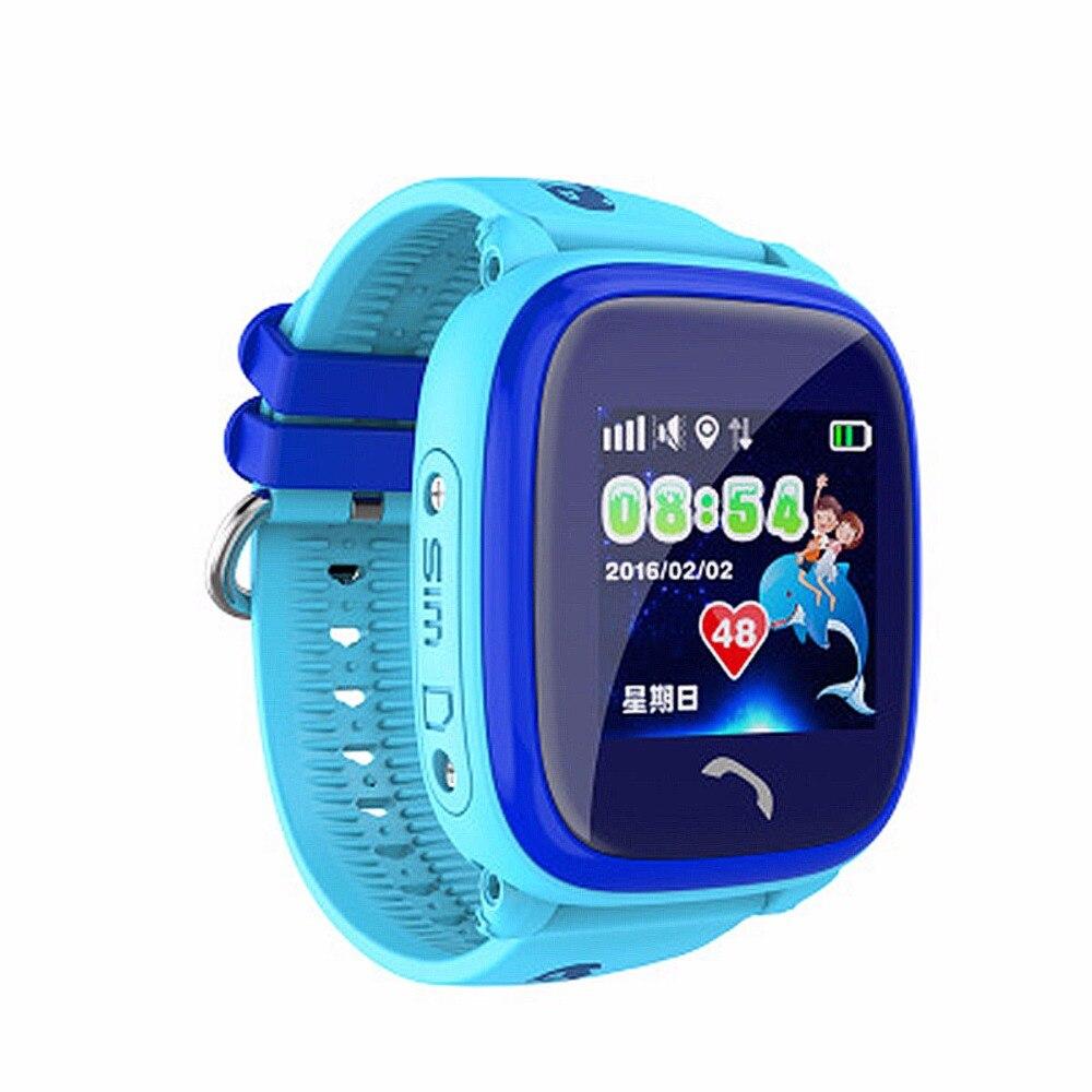 DF25 IP67 Étanche Enfants GPS De Bain téléphone montre intelligente bébé montre SOS Appel Dispositif de Localisation Tracker Kids Safe Anti-perdu Moniteur