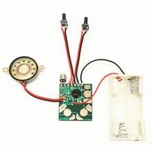 マイクロデジタル録音と再生音声 IC チップのサウンドモジュール DIY キットレコーダー記録ペントーキング音楽グリーティングカードギフト