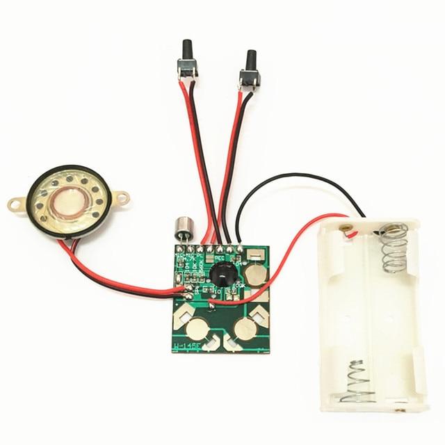 מיקרו דיגיטלי הקלטה והשמעה קול IC שבב קול מודול DIY ערכות מקליט שיא עט מדבר מוסיקה ברכה כרטיס מתנות