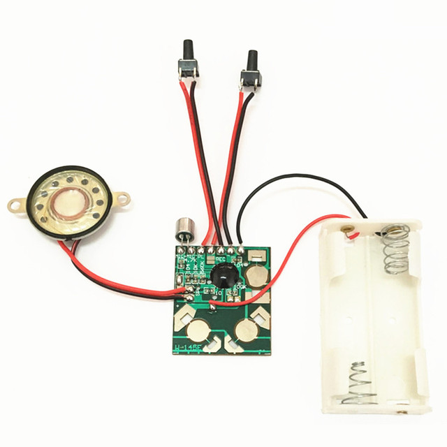 Micro Digital Recording and Playback Voice IC Chip Sound Module DIY Kits Recorder Record Pen Talking Music Greeting Card Gifts