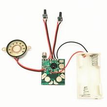 Micro Digitale di Registrazione e La Riproduzione Vocale Chip IC Modulo Audio Kit FAI DA TE Record di Registratore Penna Parlare Musica biglietto di Auguri Regali