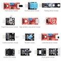 13 em 1 Starter Kit Módulos de Sensores de Chama para ARDUINO + MCU Educação Usuário TE272