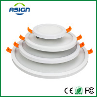 Narrow Frame LED Panel Light 6W 12W 18W 24W Ultra Thin LED Ceiling Downlight Round Square