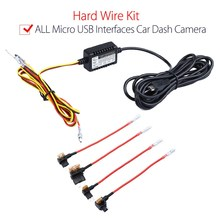 Hardwire kit Universal Micro USB Hardwire Fuse Kit 12V to 5V Power Adapter Cable for Mini