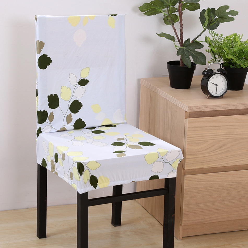 Chair cover wedding - Fxyyqs 1pc Home Chair Cover Wedding Decoration Multi Style Polyester Dining Chair Covers For Wedding Party