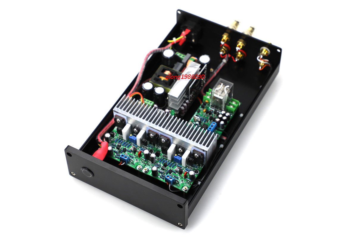 GZLOZONE Finished <font><b>HIFI</b></font> NAP250 MOD Stereo Power <font><b>amplifier</b></font> 80W+80W desktop amp L9-17 image