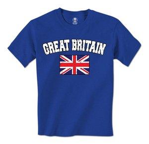 Gran oferta 2018, camiseta a la moda para hombre con bandera británica Jack de la Unión desgastada de Gran Bretaña
