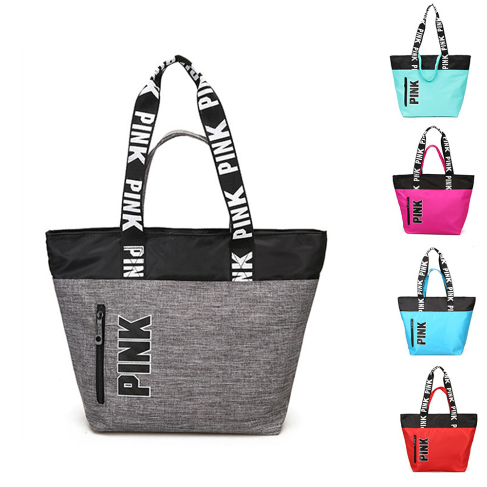 Oxford Multifunctional Outdoor Women's Sports Bag Training Gym Bag Women's Sport Handbag Bags For Women Pink Fitness Gym Bag