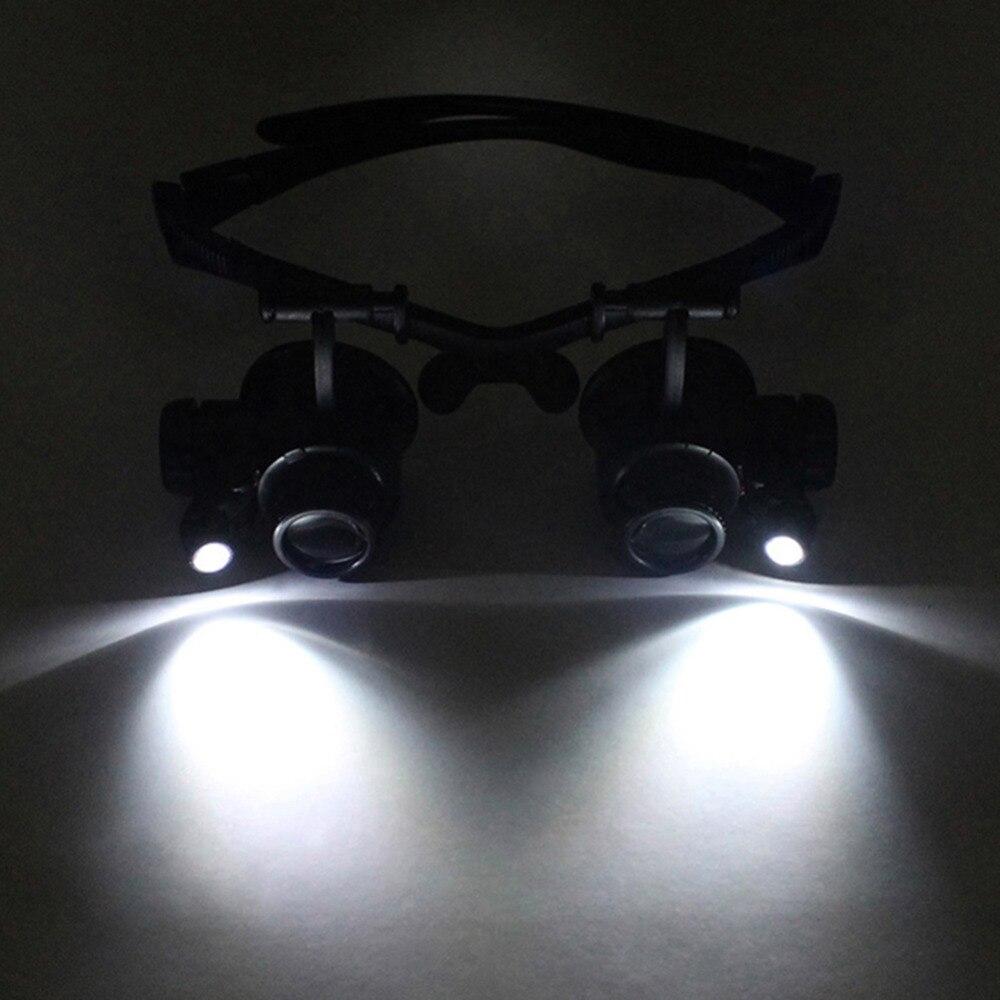Zvětšovací sklo na nošení 10X 15X 20X 25X zvětšovací sklo - Měřicí přístroje - Fotografie 6