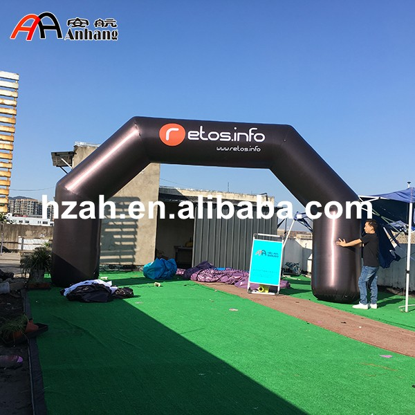 Advertising Inflatable Arch Finish Line with Logo free shipping 6m 20ft 4 legs inflatable arch inflatable start finish line racing arch with blower