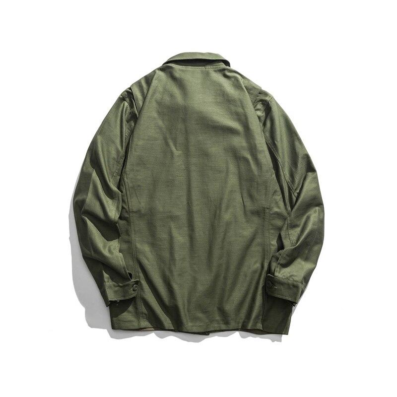 Erkek Kıyafeti'ten Ceketler'de Üreme WW2 ABD Airborne M42 Tulum Ceket Paraşütçü Askeri Üniforma'da  Grup 2