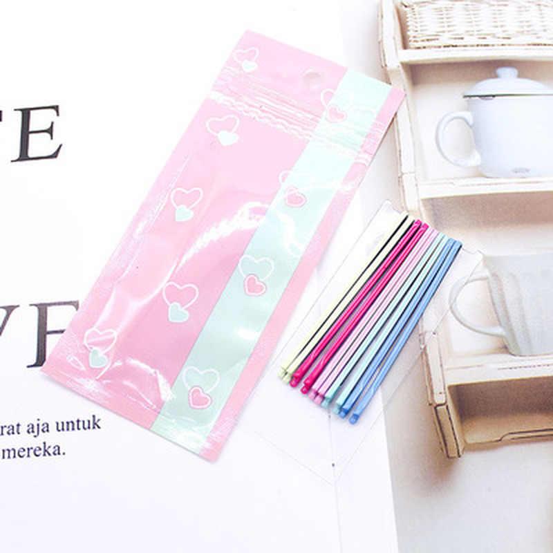 10 Pcs/set Warna-warni Jepit Rambut untuk Wanita Rambut Klip Wanita Jepit Tak Terlihat Gelombang Hairdryer Jepit Rambut Klip Aksesoris