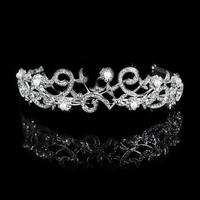 New Design Flower Shape Simulated Pearl Hair Accessories Austrian Crystal Hair Ornament For Women Wedding Party