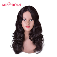 Miss Rola 28inch 2 High Temperature Fiber Wavy Long Hair Wig Women Party Wig On Sale