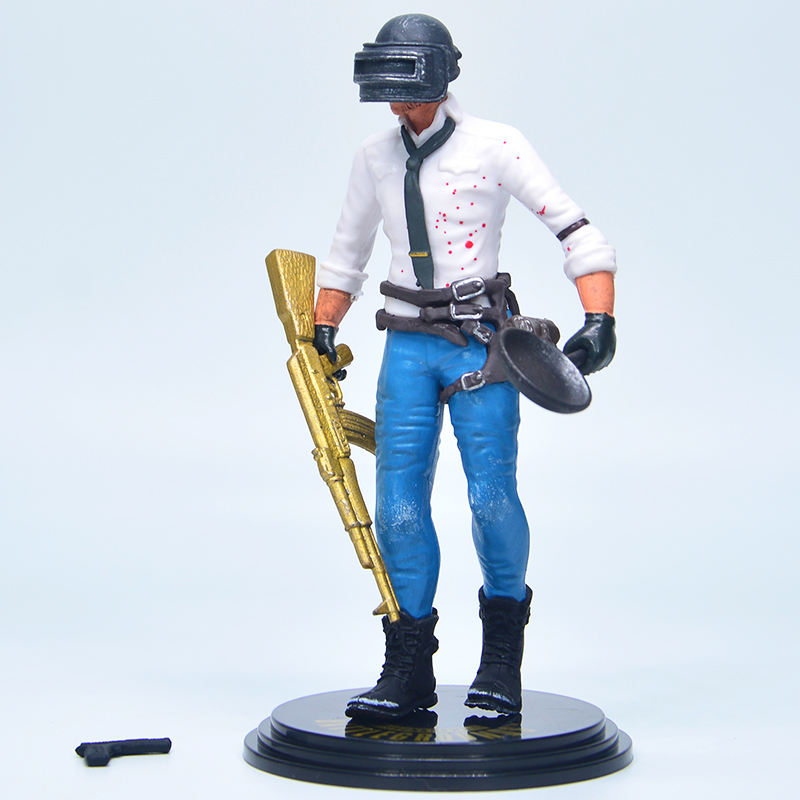 Hot 14CM Game Playerunknowns Battlegrounds PUBG Character Male Action Figure Collection Toys for GiftHot 14CM Game Playerunknowns Battlegrounds PUBG Character Male Action Figure Collection Toys for Gift