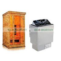 6KW 110 V בקר טמפרטורת דוד רטוב ויבש תנור סאונה ספא בית המניות בארה