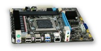 New desktop motherboard X79 M.2 SSD port ddr3 support Ecc ram 2*RAM slots LGA 2011 mainboard 7.1 audio port