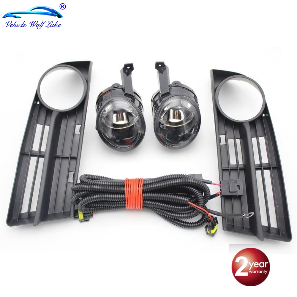 For VW Caddy 2003 2004 2005 2006 2007 2008 2009 2010 2011 New Front Bumper Fog Lamp Fog Light Wire
