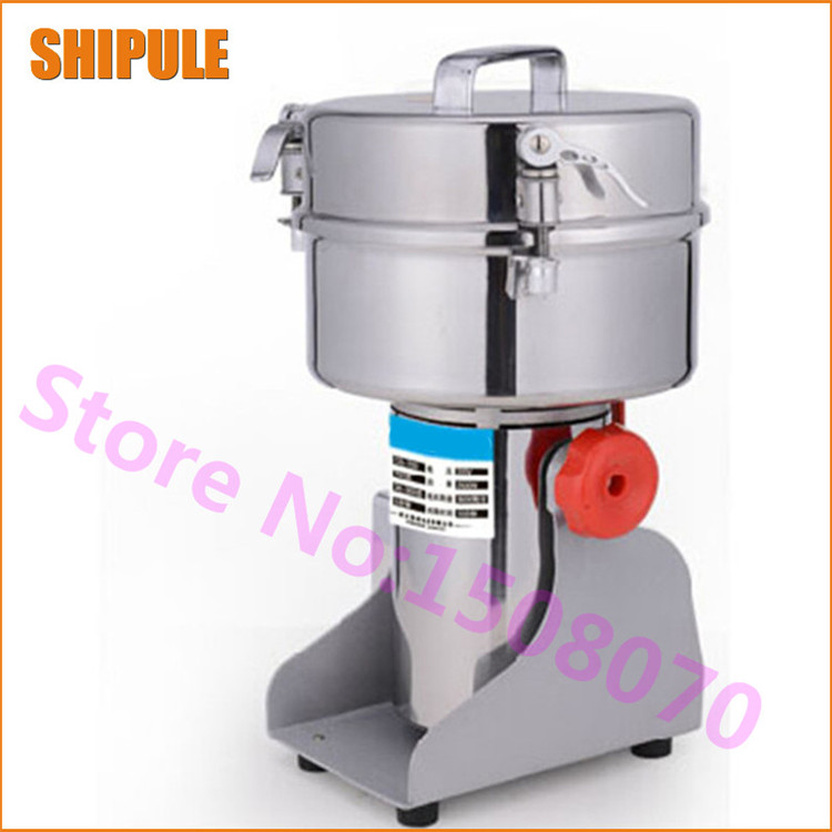 New Products 2016 1000g High Efficiency Small Swing Grinder Mung Bean Soy Flour Grinder Paprika Small