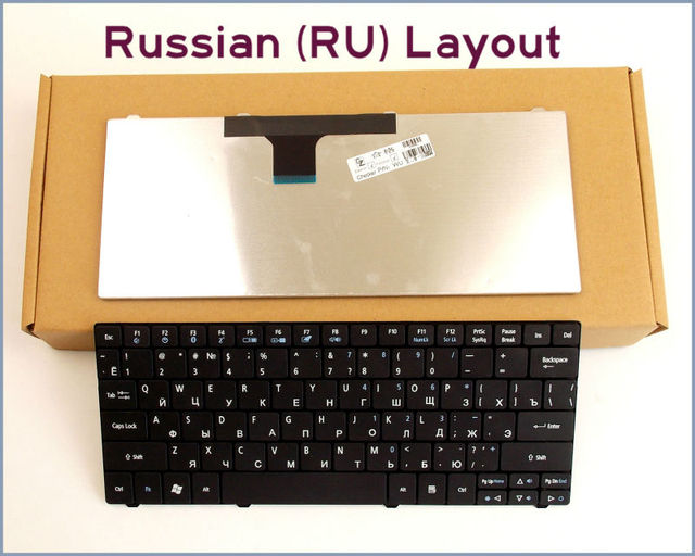 New RU Russian Version Keyboard for Acer Aspire One p1ve6 521 1430 1430Z 1830 1830T 1830TZ 1830/T/TZ Laptop