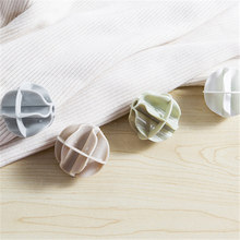 2pcs magic decontamination anti winding hanging Laundry Balls Clothespins Drying Rack Sun Sockings Multifunctional Home QW102